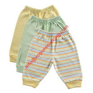 3 Pcs Baby Pant Set