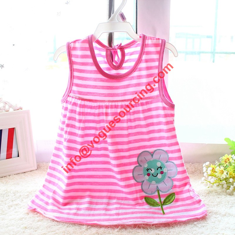 Baby Girl Dress, Girl Dress, Baby Girl Clothes, Dresses, Baby Dress, Sleeveless Dress, Printed Dress, Pink Dress, Baby Clothes, Baby Dresses, Baby Gown, Baby Tops, Girls Top, Girls Sleeveless Top, Sleeveless T-Shirt, Sleeveless Tops, vogue sourcing