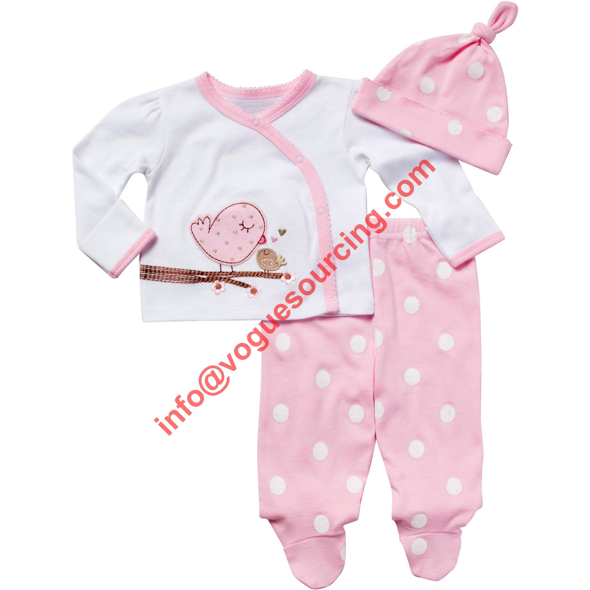 Vogue Sourcing Baby Girl Clothes Manufacturer Exporters in Tirupur