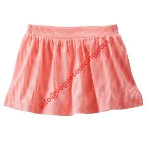 Baby Girls Mini Skirt Striped