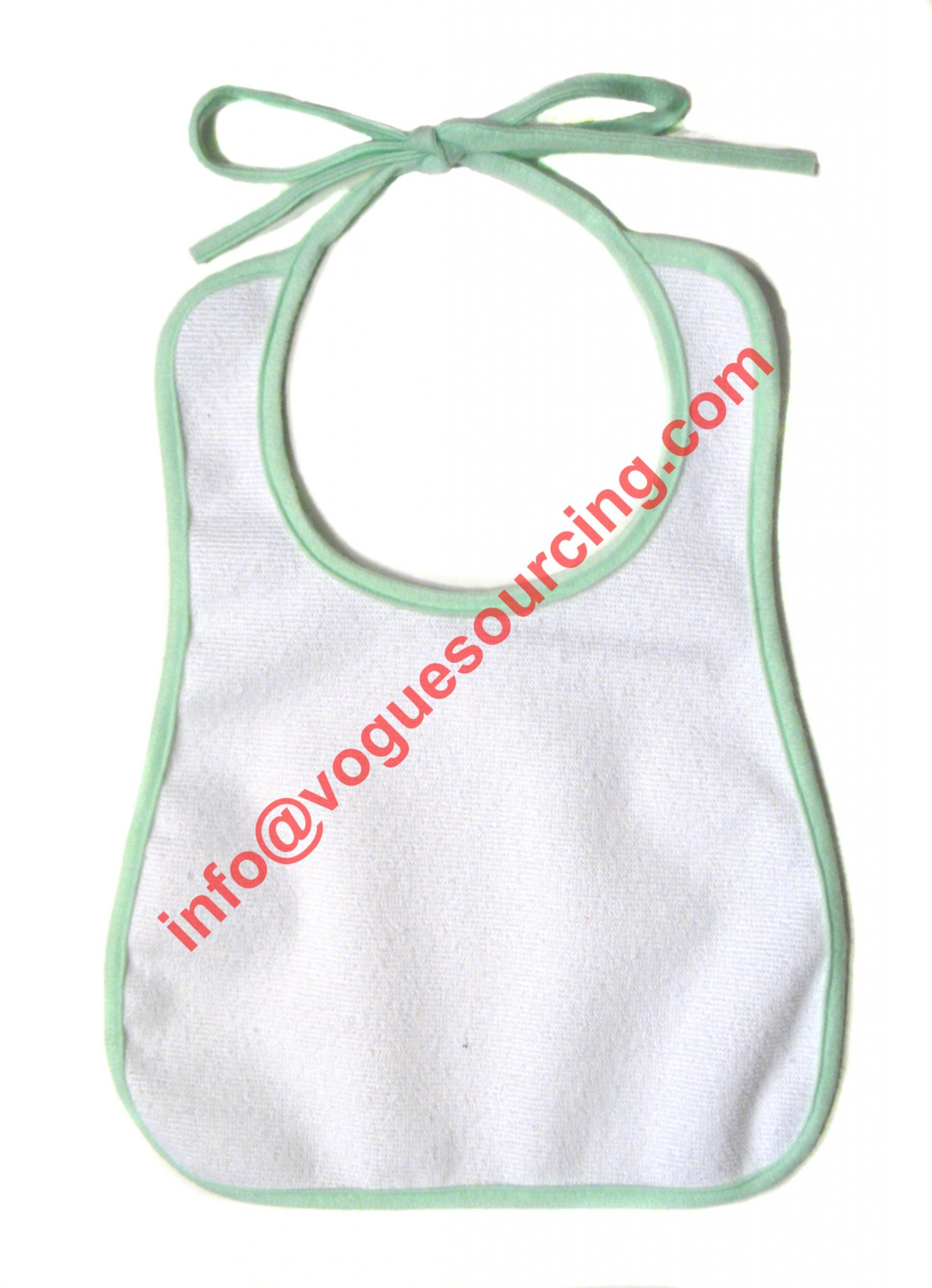 Vogue Sourcing Plain Baby Bib Baby Clothes Manufacturer in Tirupur India