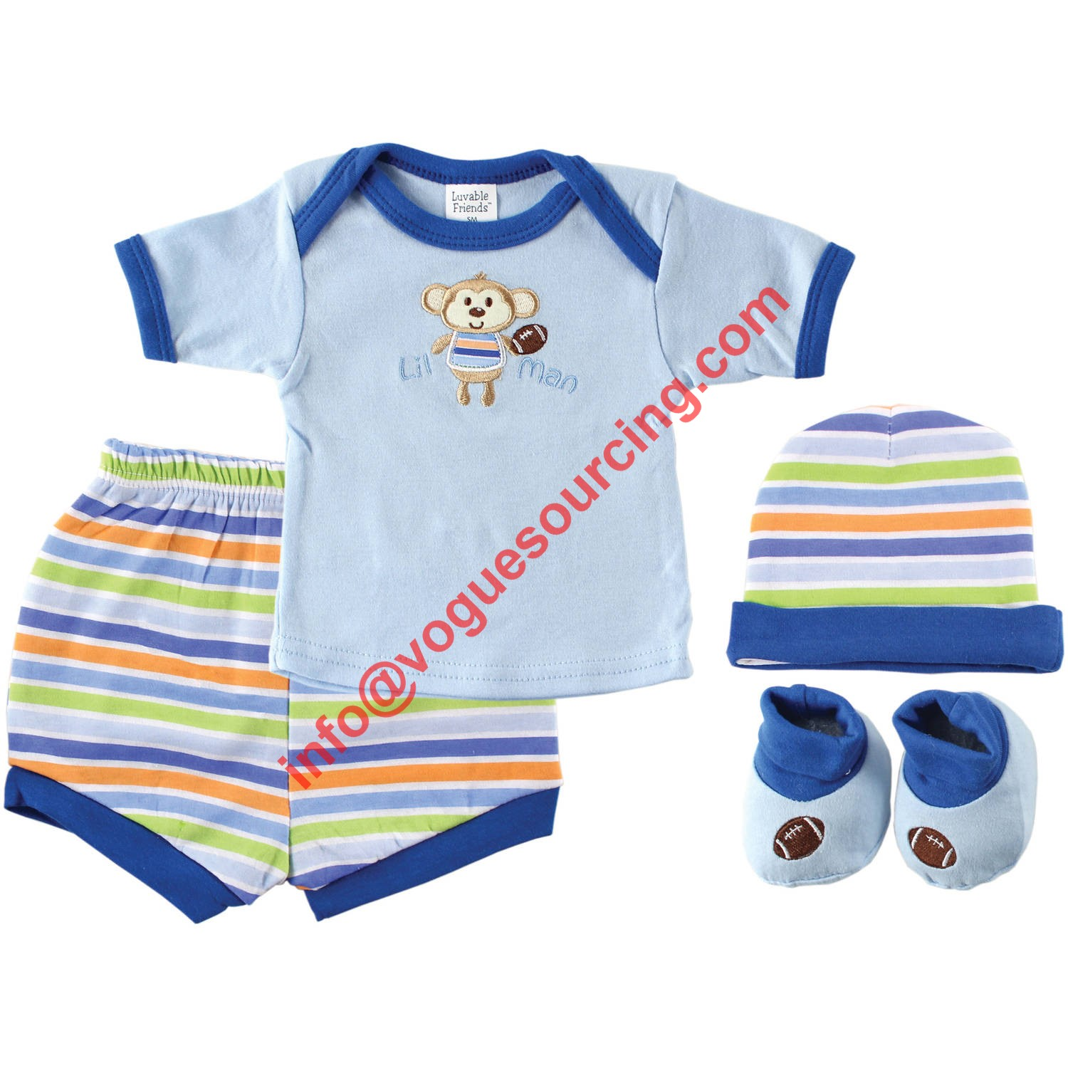 Vogue Sourcing Baby Boy Clothes Set Manufacturers in Tirupur India
