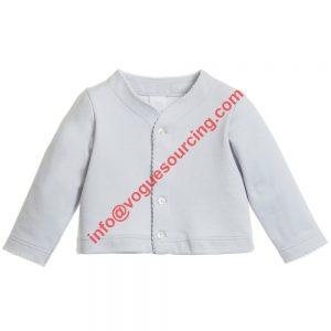 Cotton Jersey Baby Cardigan