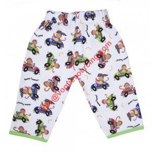 Organic Baby Pant Printed