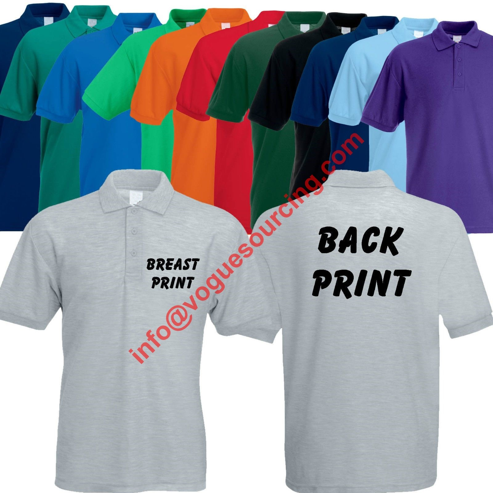 Custom polo t shirt voguesourcing tirupur india vogue for Custom polo shirt manufacturers
