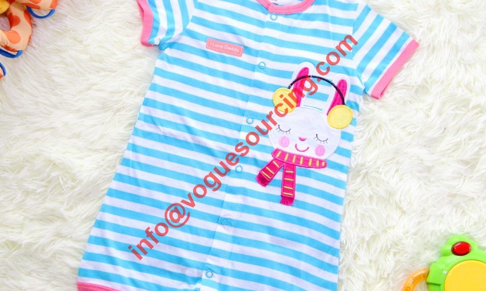 Yarn Dyed Baby Romper Manufacturer
